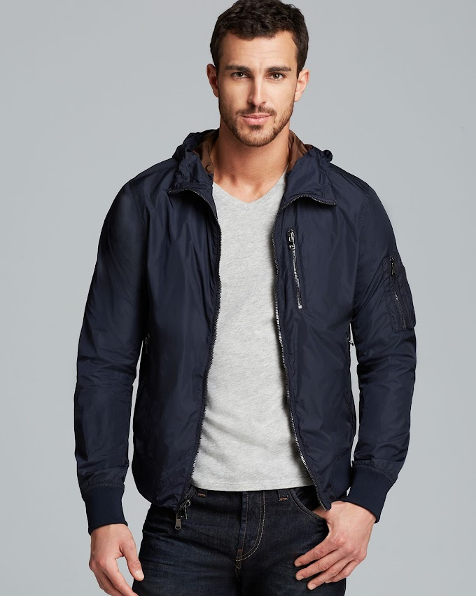 Michael Kors Hooded Blouson