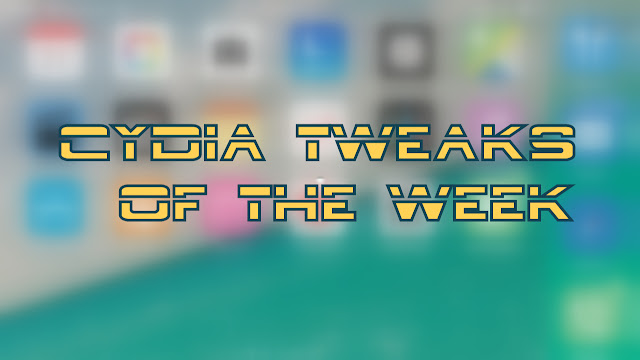 What's up guys! Now it's time to look up the new cydia tweaks released in this week which you might missed in these days due to lack of time and didn't get a chance to look at Cydia