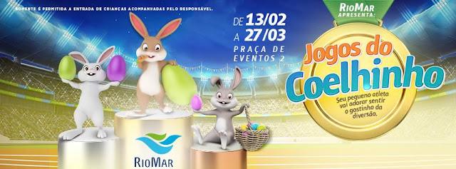 Jogos do Coelhinho no RioMar Recife