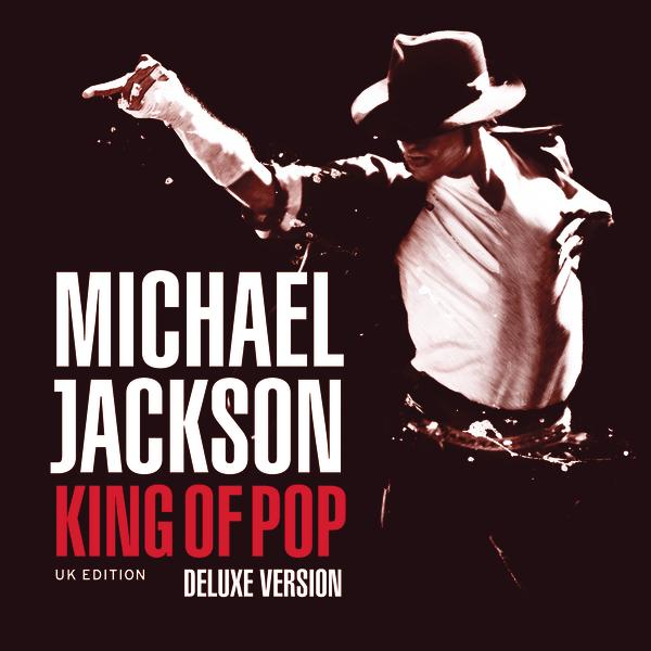 Michael Jackson - King of Pop (Deluxe UK Version)  Cover