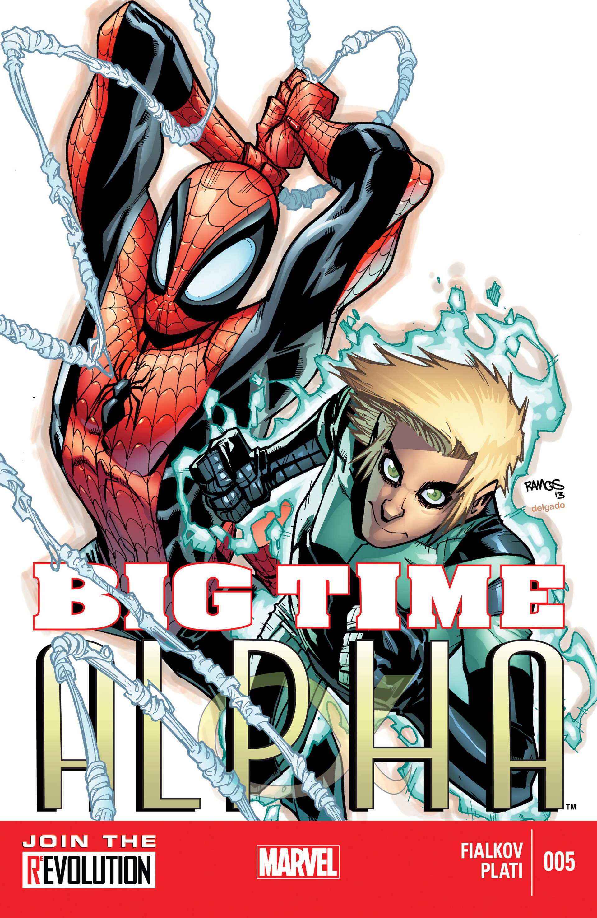 Read online Alpha - Big Time comic -  Issue #5 - 1