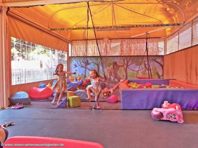 Kinderbereich Aparthotel El Duque Teneriffa Costa Adeje