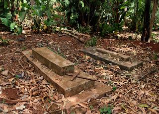 Graves in Uganda