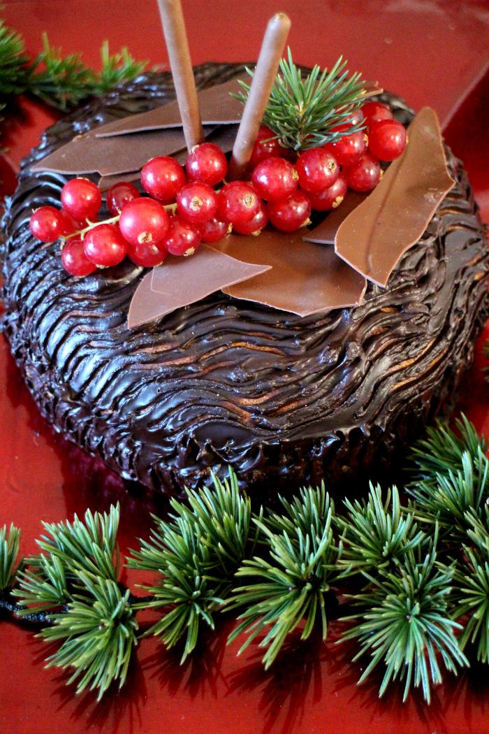 christmas-log-tart, tarta-tronco-de-navidad