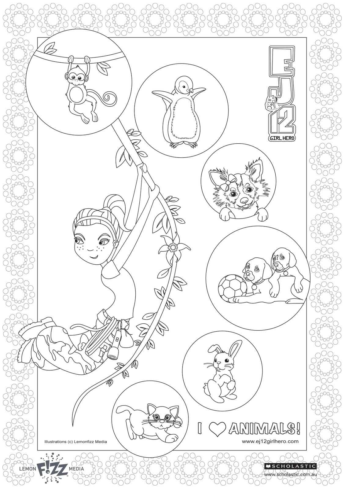 Free Netball Positions Coloring Pages Sketch Coloring Page