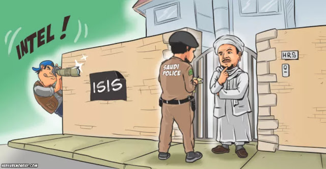 "Operasi ""Intelijen"" Melayu, Habib Rizieq. Siapa Saja yang Bermain?"