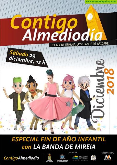 Los Llanos de Aridane celebra este sábado 29 de diciembre el Fin de Año Infantil