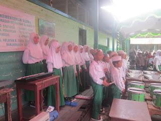 Pengukuhan dan Perpisahan Siswa Siswi Kelas 6 MI Al Raudlah
