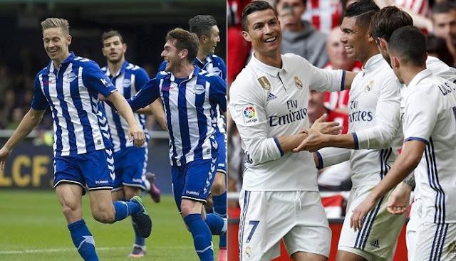 Real Madrid vs Alaves en vivo