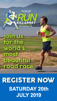 Run Killarney Half-Marathon & 10k - Sat 20th July 2019