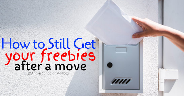 How to forward your mail for your freebies