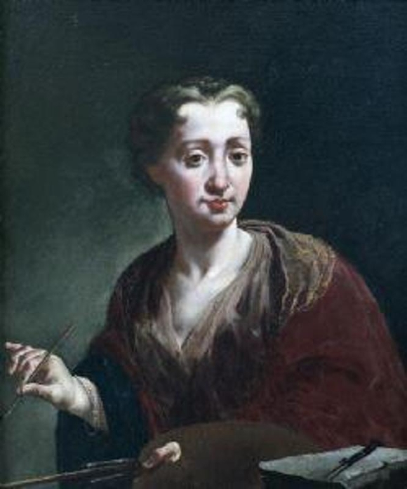 Giulia Lama Автопортрет