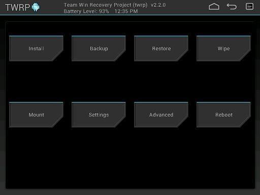 Install TWRP Recovery on Karbonn Smart Tab 8 (Velox) and