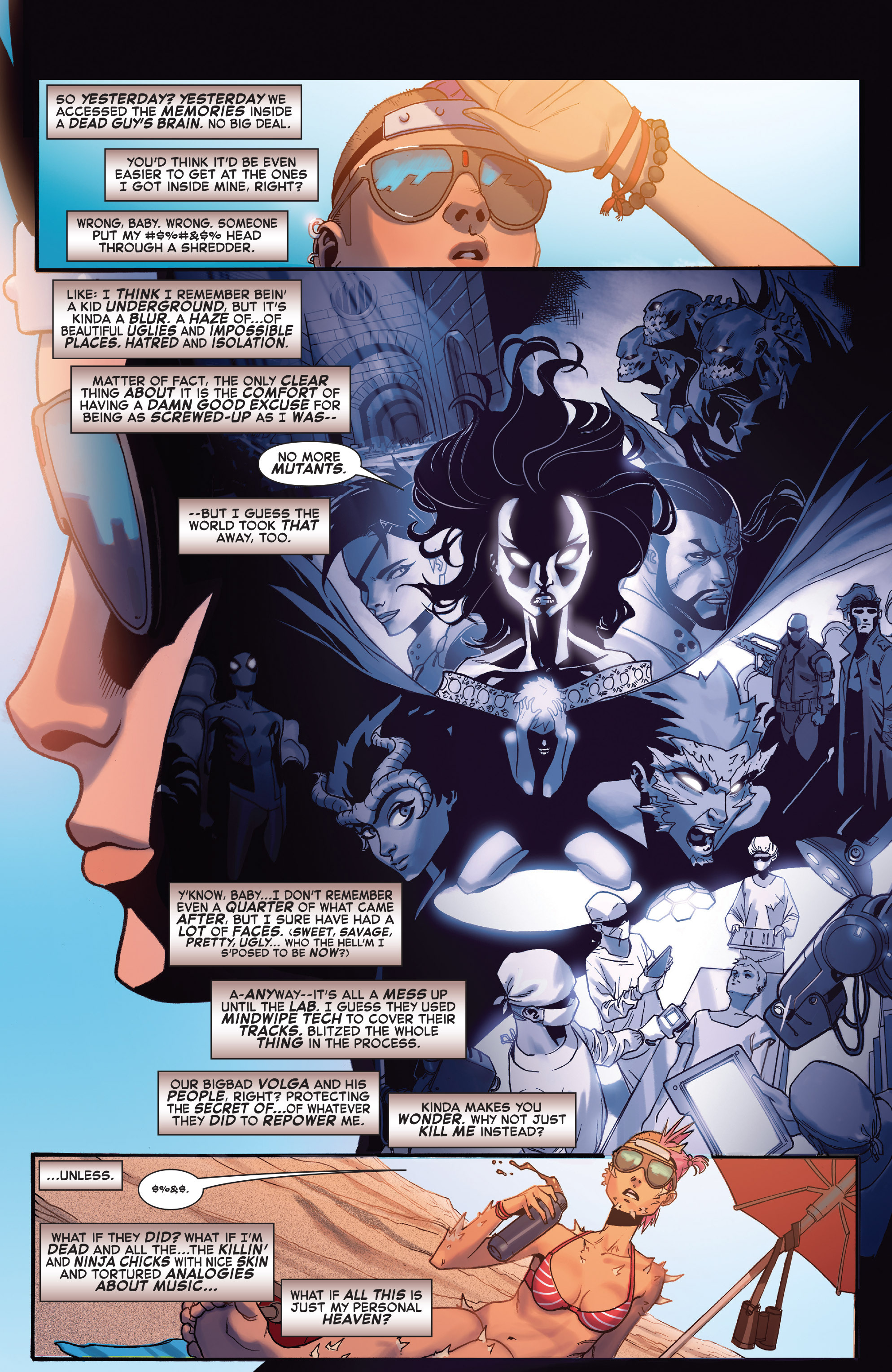 Read online X-Force (2014) comic -  Issue #5 - 3