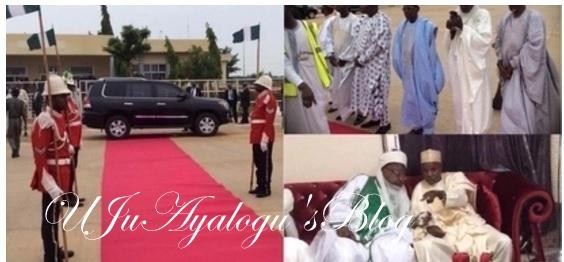 BREAKING News: President Buhari Departs Daura for Abuja After Sallah Break