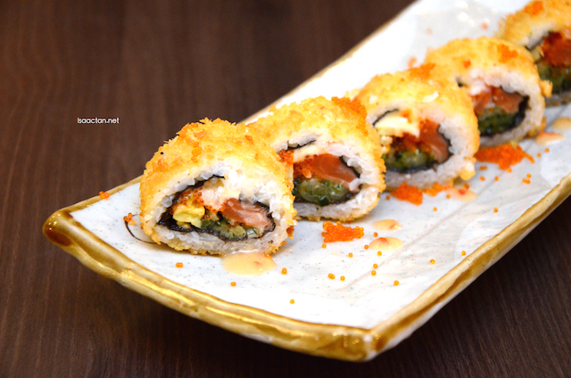 Umeshu Special Fried Salmon Roll -  RM13.90