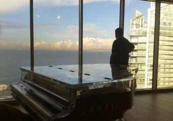 Đàn Grand Piano Kawai Trống Suốt CR-40