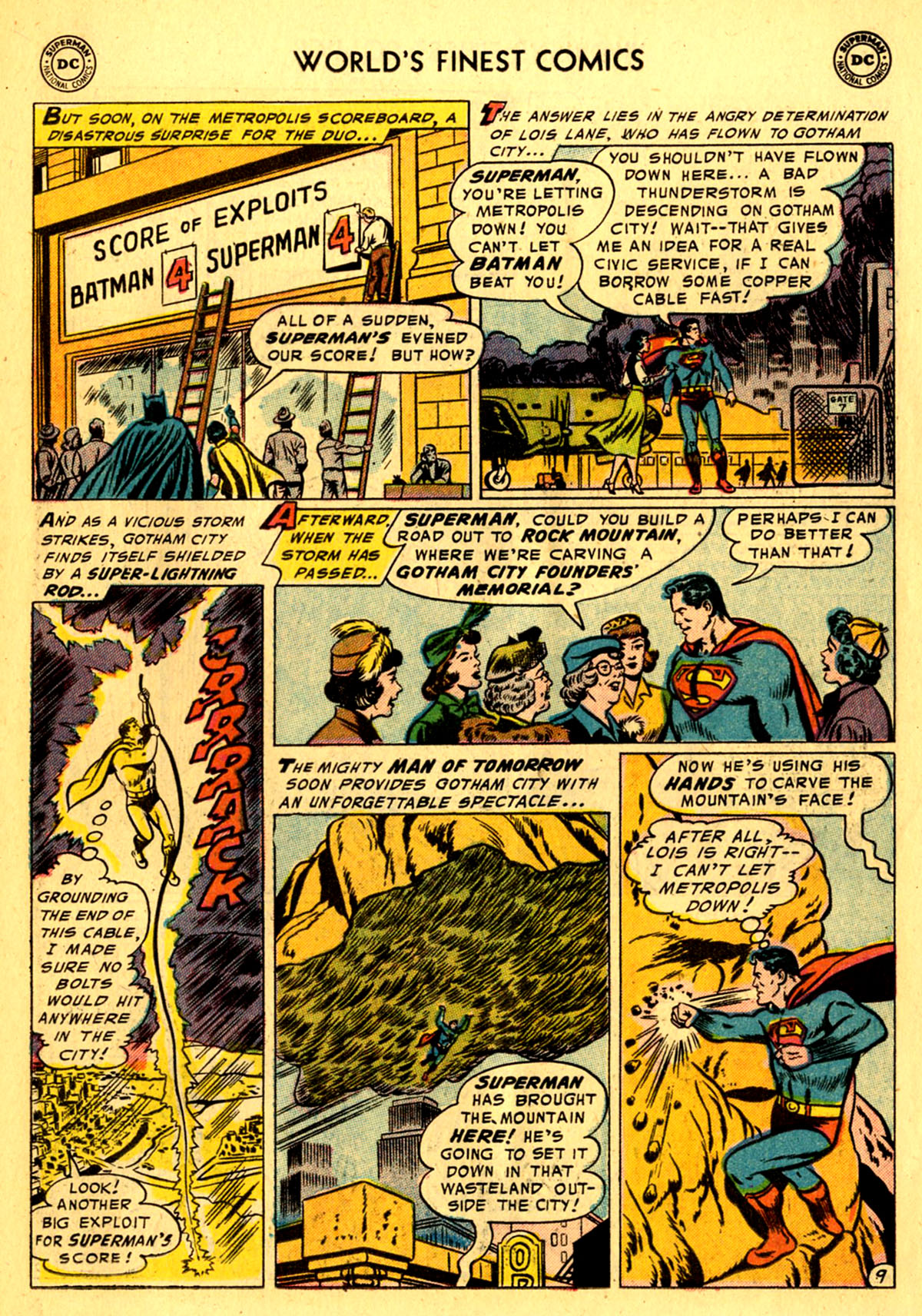 Read online World's Finest Comics comic -  Issue #76 - 11