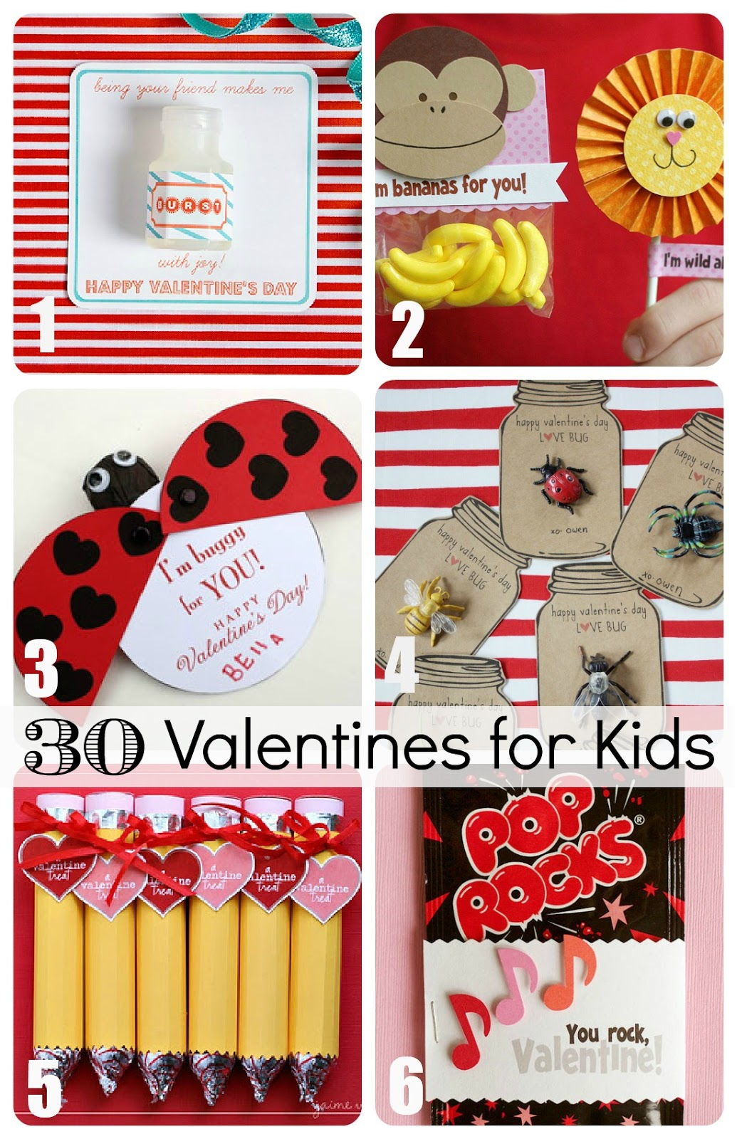 30 Valentines For Kids From Creative To Downright Easy