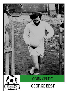 George Best cork celtic Drogheda Bohemians Shelbourne