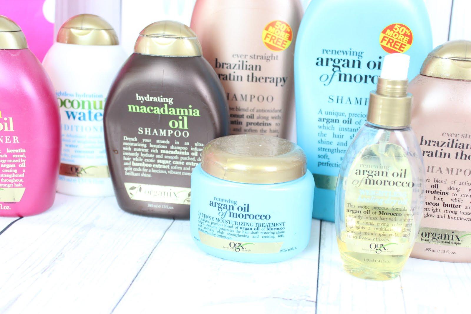 Meine Erfahrung Mit Ogx Shampoo Und Haarprodukten Organix Shampoo