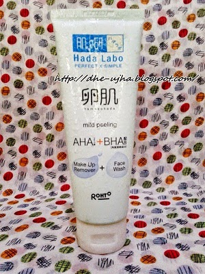 Hada Labo Mild Peeling  Make Up Remover + Face Wash