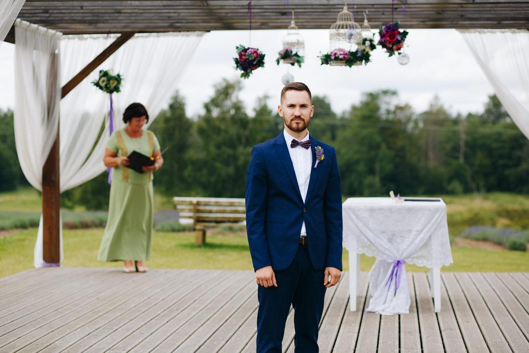 lavandu lauki kāzu svinībām un kāzu ceremonijai