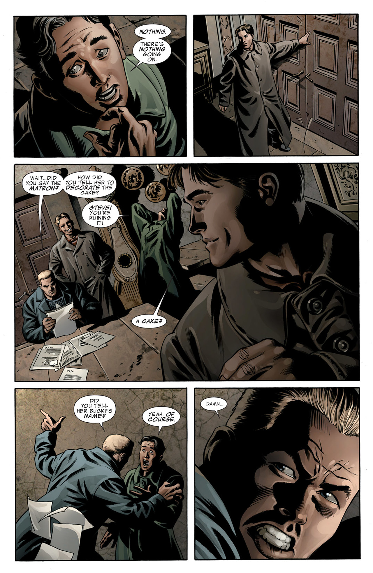 Read online Captain America (2005) comic -  Issue #50 - 11