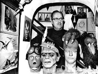 Forrest Ackerman en la Ackermansion