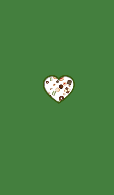 Cute poppy cookie green
