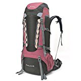 Mountaintop 55L+10L Water-resistant Hiking Backpack
