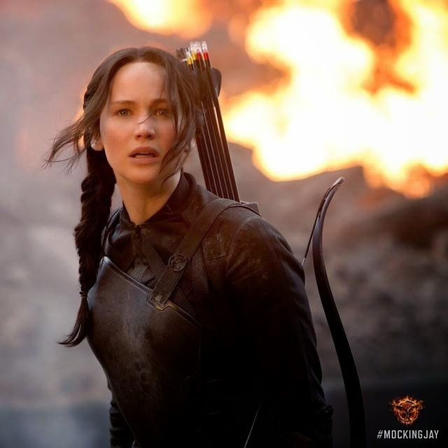 The Hunger Games: Mockingjay - Part 1, USA, 2014 - Katniss