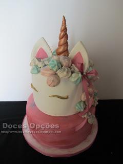 torta Aniversário Unicórnio