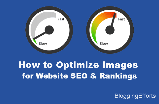 Optimize images online for website SEO & rankings