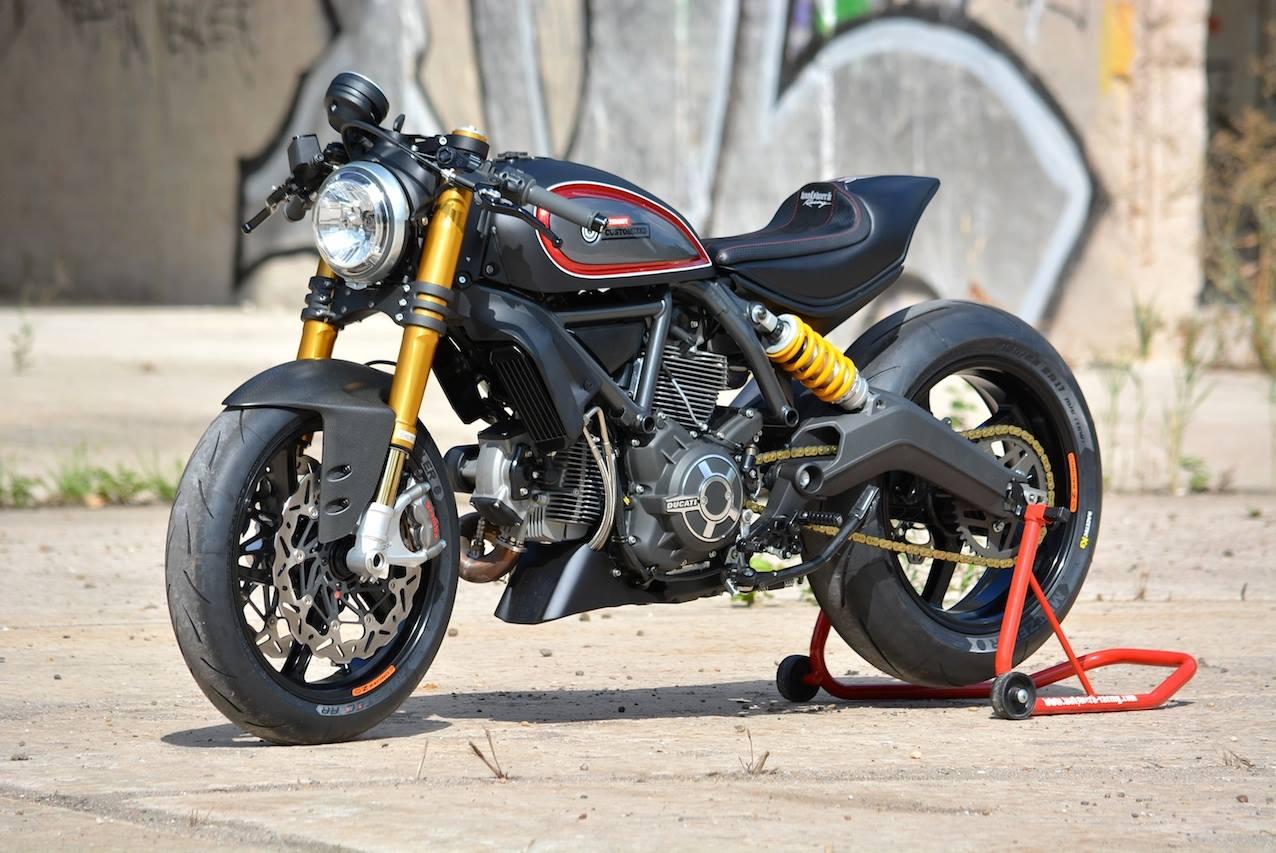 Ducati Sport Classic Fork Upgrade