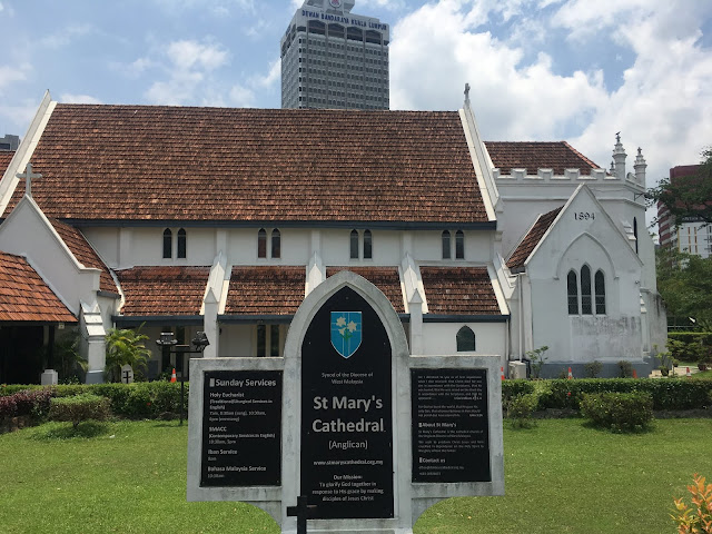 st. Mary's cathedral in Kuala Lumpur, Malaysia
