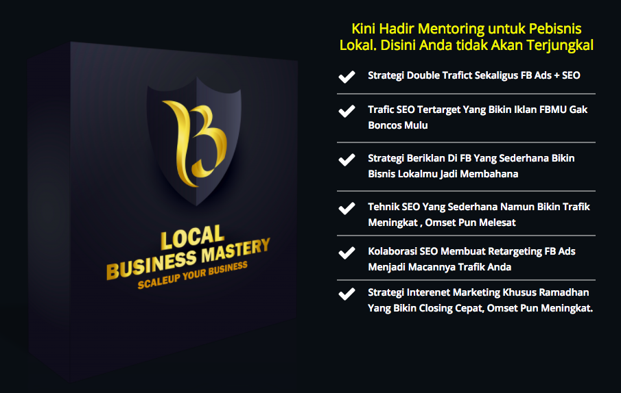 local business masteri perpaduan fb ads dan seo