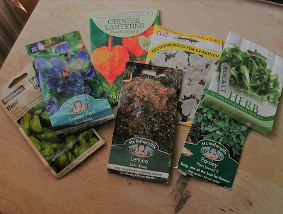 Seed packets Green Fingered Blog