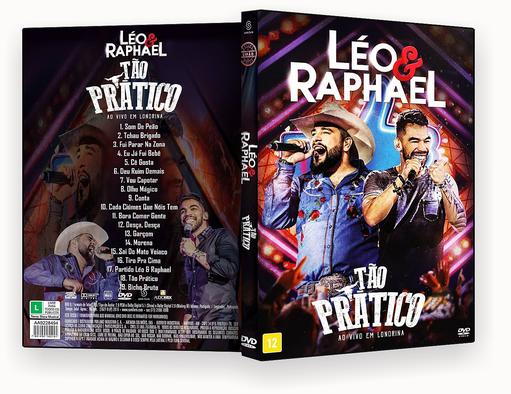 CAPA DVD – Léo & Raphael Tão Prático DVD-R OFICIAL 2018