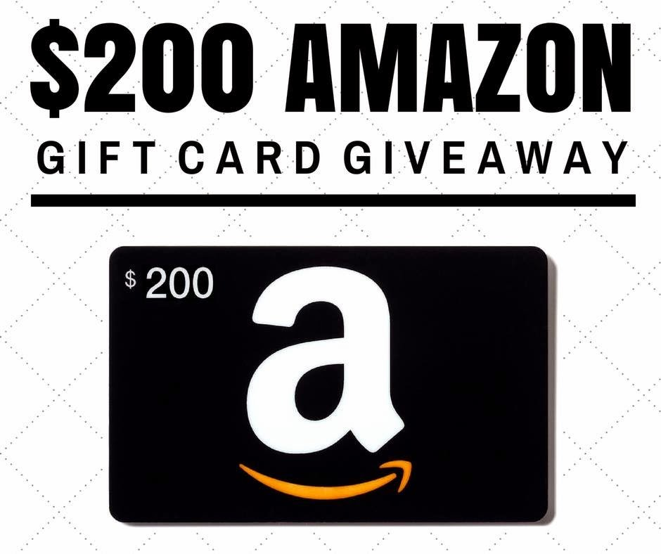Enter to win the $200 Amazon Gift Card Giveaway. Ends 9/2.
