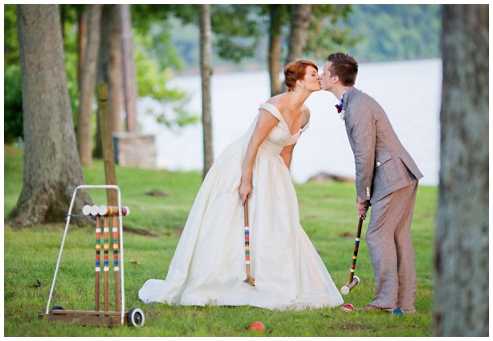 Fun Wedding Lawn Games