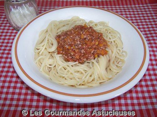 Comment faire une Sauce Bolognaise végétarienne ?