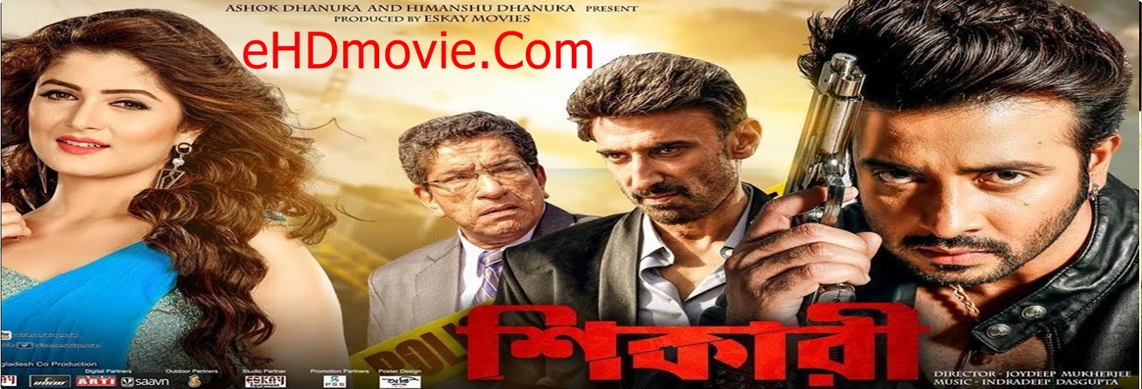 Shikari 2016 Bengali Full Movie Original 480p - 720p ORG HDRip 450MB - 1.3GB