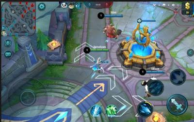 Fokus pada lawan musuh mobile legend