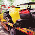 Lamborghini Gallardo crashes in central Delhi