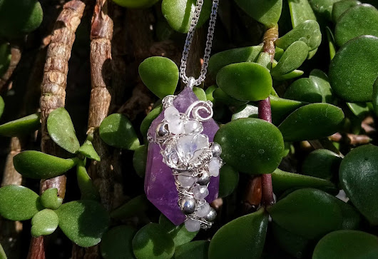 Witch's Crystal Amulet by Ckinas