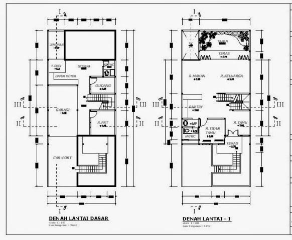 Rumah Minimalis Kolam Renang Terbaru Cara Menggambar Denah Rumah