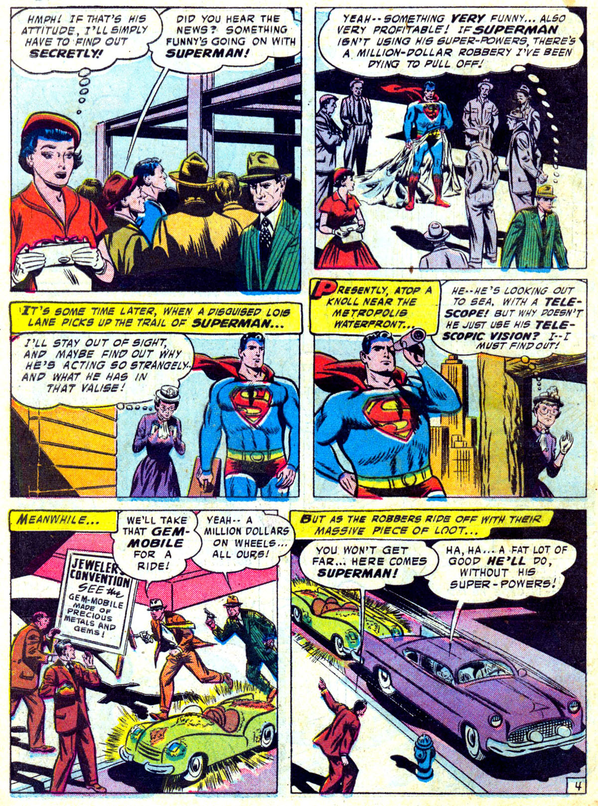 Read online Action Comics (1938) comic -  Issue #230 - 5