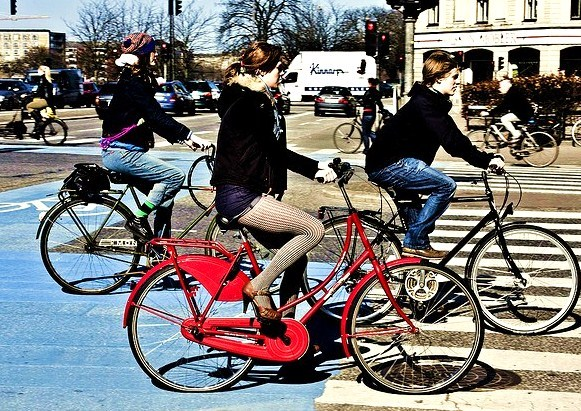 Ragazze Danesi Belle E Sexy Anche In Bicicletta Foto Danimarca