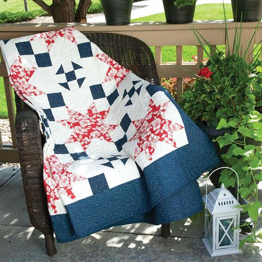Cottage Charm Lap Quilt Free Pattern